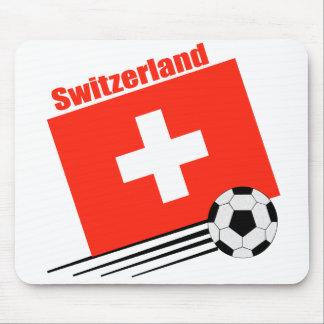 Swiss Soccer Team Mouse Mats