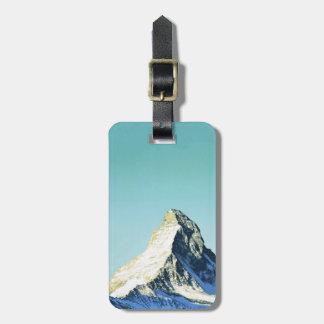 Swissair, Matterhorn Luggage Tag