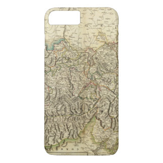Swisserland  -Switzerland Atlas Map iPhone 8 Plus/7 Plus Case