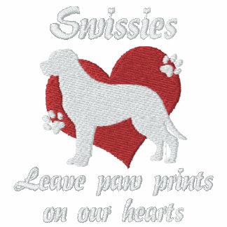 Swissies Leave Paw Prints