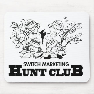 Switch Marketing Hunt Club Mouse Pad