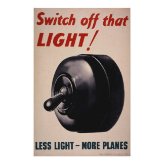 Switch Off That Light! Poster