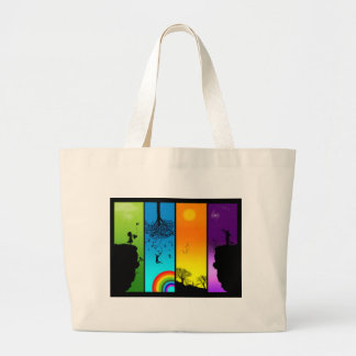 switched up large tote bag