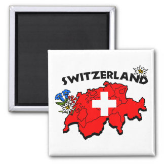Switz Map Magnet