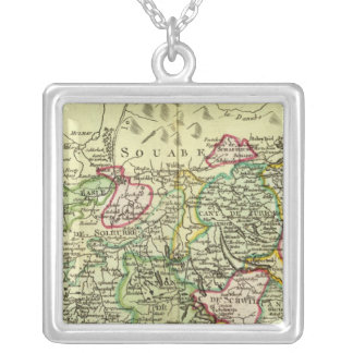 Switzerland 12 silver plated necklace