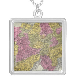 Switzerland 13 silver plated necklace