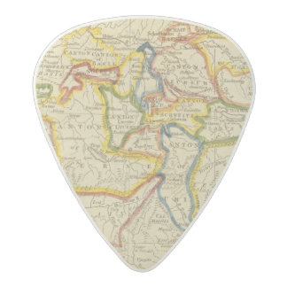 Switzerland 21 acetal guitar pick
