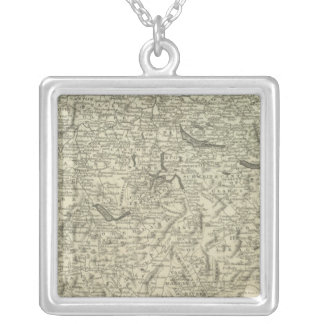 Switzerland 24 silver plated necklace