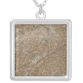 Switzerland 25 silver plated necklace