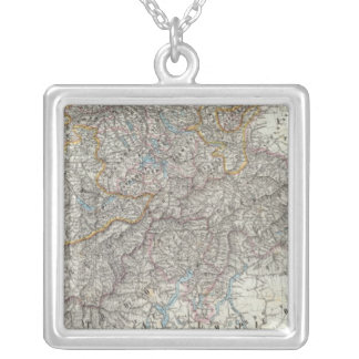 Switzerland 2 silver plated necklace