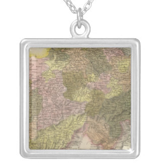 Switzerland 3 silver plated necklace