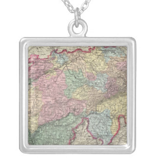 Switzerland 4 silver plated necklace