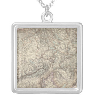 Switzerland 5 silver plated necklace