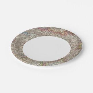 Switzerland 7 Inch Paper Plate