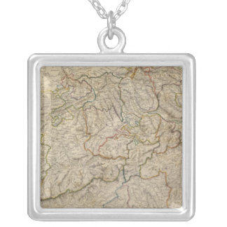 Switzerland 7 silver plated necklace