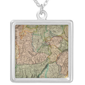Switzerland 8 silver plated necklace