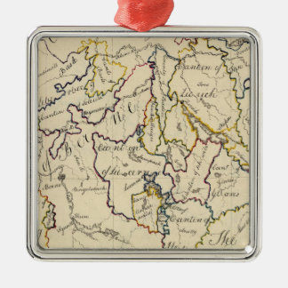 Switzerland 9 christmas ornament