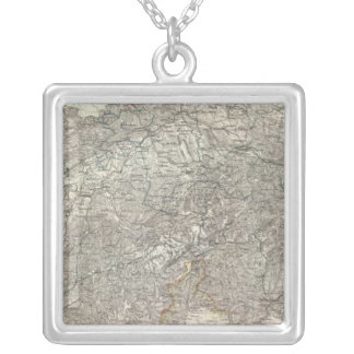 Switzerland 9 silver plated necklace