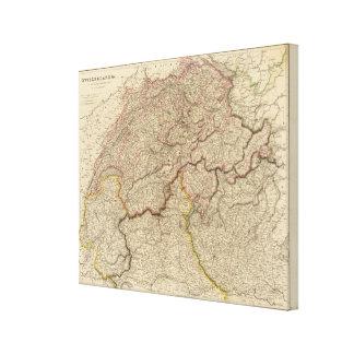 Switzerland, Alps Canvas Print