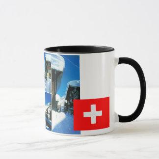 Switzerland,  Andermatt winter ski resort Mug