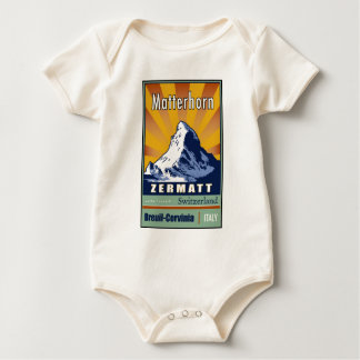 Switzerland Baby Bodysuit