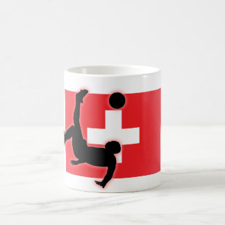 Switzerland Bicycle Kick Coffee Mug
