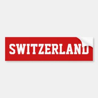Switzerland Bumper Sticker
