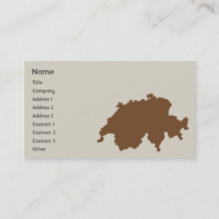Switzerland business cards business card printing zazzle uk switzerland business business card reheart Image collections