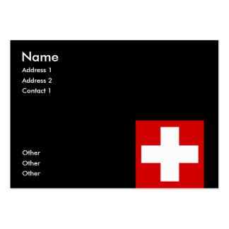 Switzerland Business Card Templates