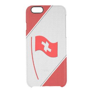 Switzerland Clear iPhone 6/6S Case