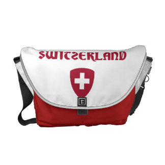 Switzerland + Coat of Arms Commuter Bag