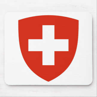 Switzerland Coat of Arms Mouse Mat