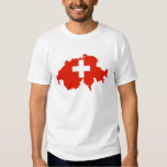 switzerland country flag map swiss symbol shirts