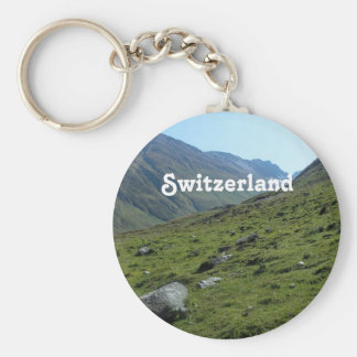Switzerland Countryside Key Ring