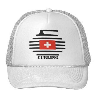 Switzerland Curling Cap