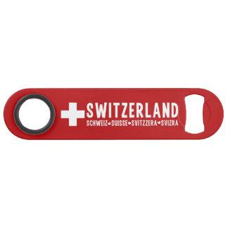 SWITZERLAND custom bottle opener