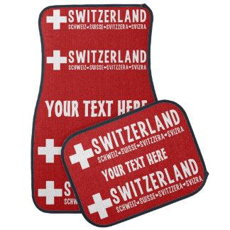 SWITZERLAND custom car floor mats