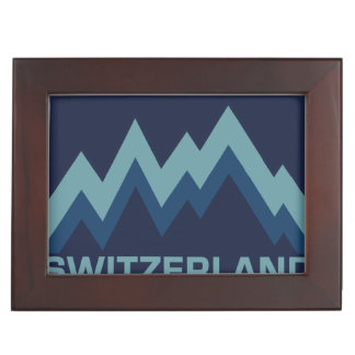 SWITZERLAND custom keepsake box