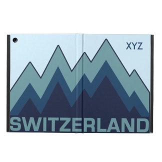 SWITZERLAND custom monogram cases Cover For iPad Air