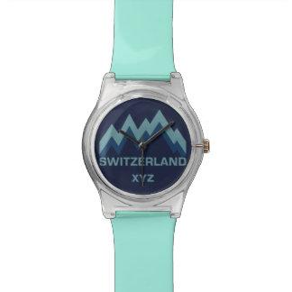 SWITZERLAND custom monogram watches