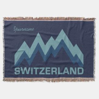 SWITZERLAND custom throw blanket