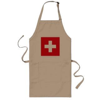 Switzerland Flag Apron
