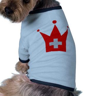 Switzerland Flag Dog Clothing