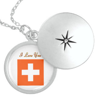 Switzerland flag Locket