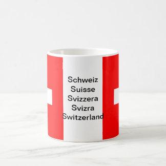 Switzerland flag mug