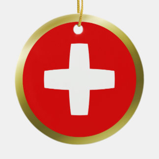 Switzerland Flag Ornament