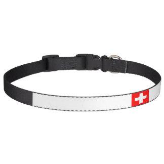 switzerland flag.png pet collar