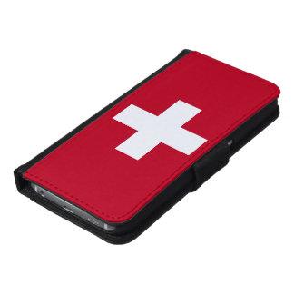 Switzerland Flag Samsung Galaxy S6 Wallet Case