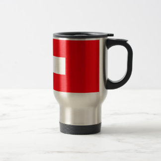 Switzerland Flag Travel Mug