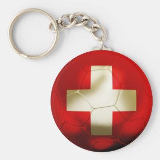 Switzerland Football Key Ring